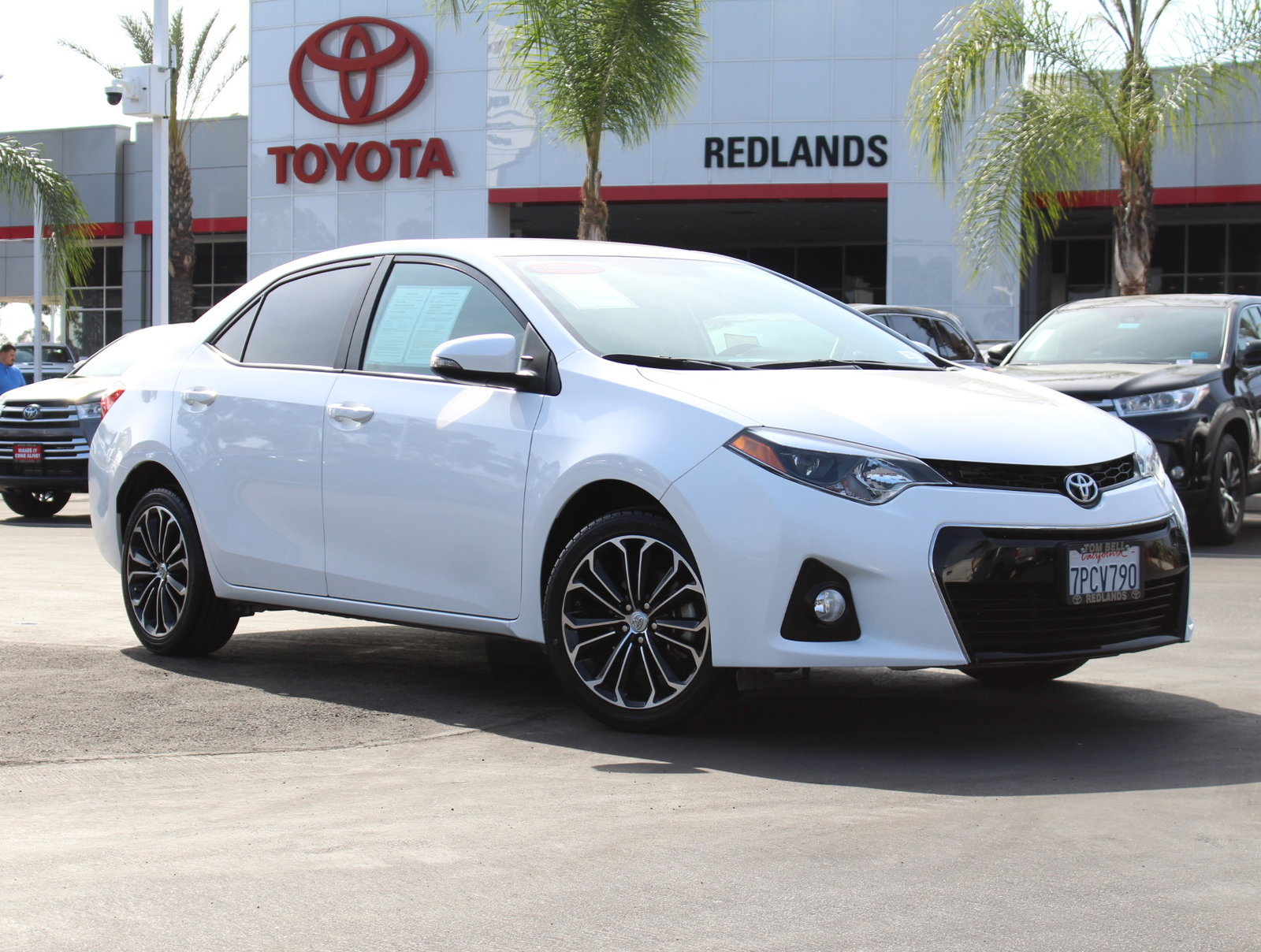 Toyota Corolla S Plus >> Certified Pre Owned 2016 Toyota Corolla S Plus 4dr Sdn Cvt S Plus