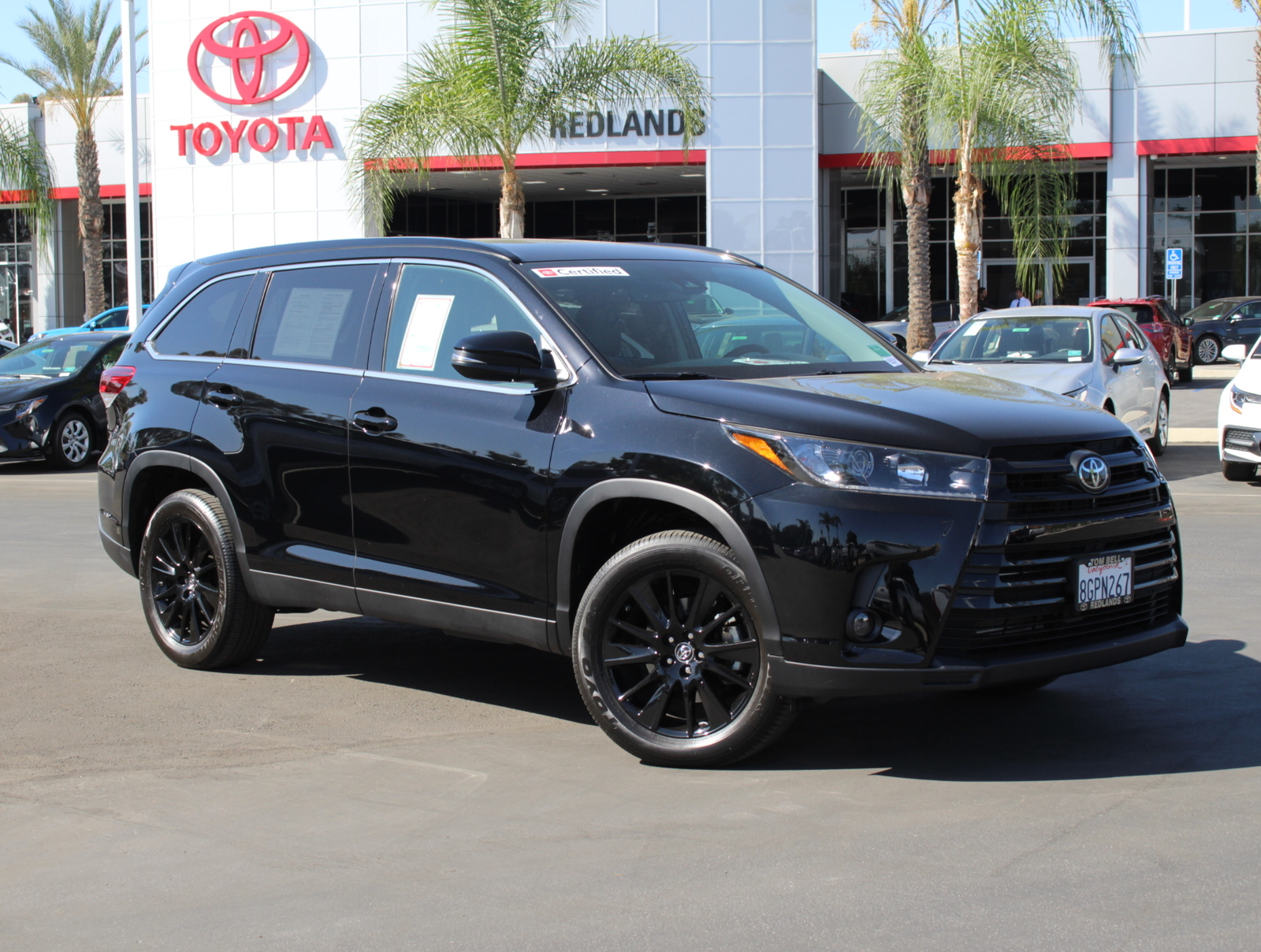 Certified Pre-Owned 2019 Toyota Highlander SE