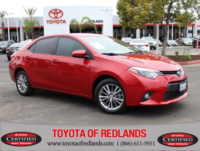 Certified Pre Owned 2015 Toyota Corolla Le 4dr Sdn Cvt Le Natl In