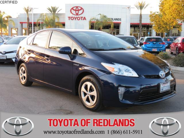 Certified Pre-Owned 2014 Toyota Prius STD FWD 4dr Car