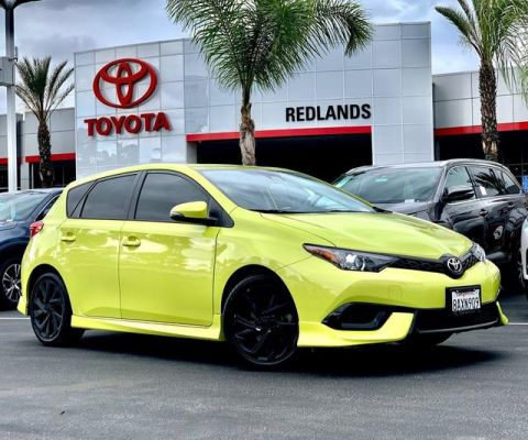 Pre-Owned 2018 Toyota Corolla iM